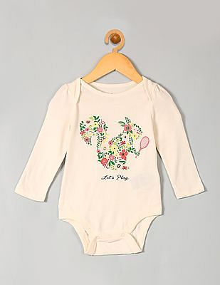 1c95fb4d2 Buy Baby Baby Spring Floral Graphic Bodysuit online at NNNOW.com