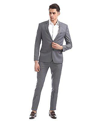 Arrow Newyork Patterned Weave Two Piece Suit