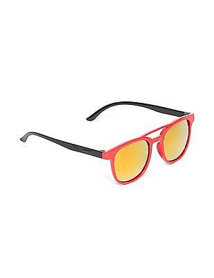 Unlimited Girls Square Frame Colour Block Sunglasses
