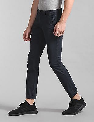 GAP Washwell Vintage Wash Khakis In Skinny Fit With Gapflex