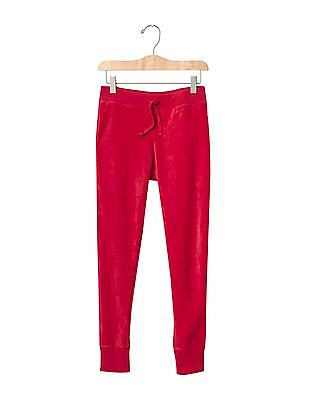 GAP Girls Red Pro Fleece Sweats