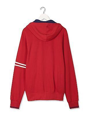 Izod Regular Fit Hooded Sweatshirt