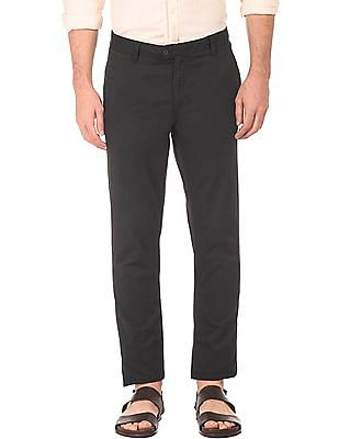Ruggers Skinny Fit Flat Front Trousers