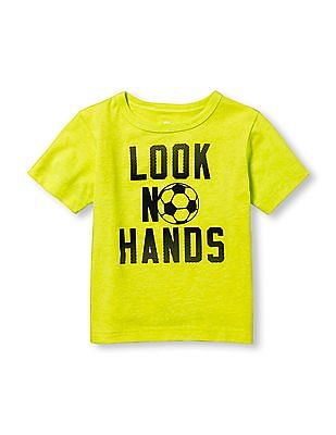 The Children's Place Toddler Boy Place Sport Short Sleeve Statement Graphic Tee
