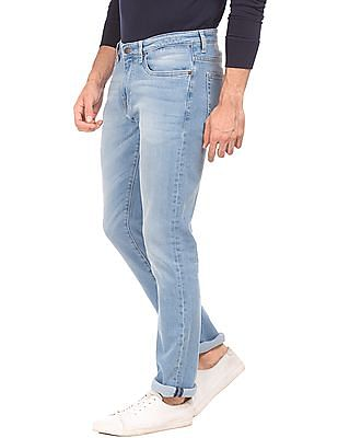 Aeropostale Stone Washed Skinny Fit Jeans