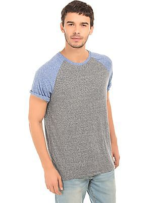 Aeropostale Solid Colour Block T-Shirt