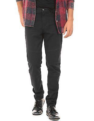 Aeropostale Solid Skinny Fit Jeans