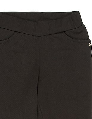U.S. Polo Assn. Kids Girls Mock Pocket Knit Pants
