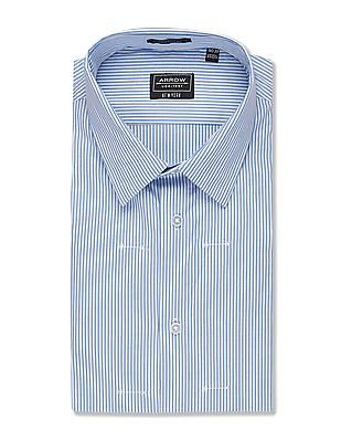 Arrow Newyork Slim Fit Striped Shirt