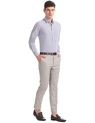 Arrow Tapered Fit Heathered Trousers
