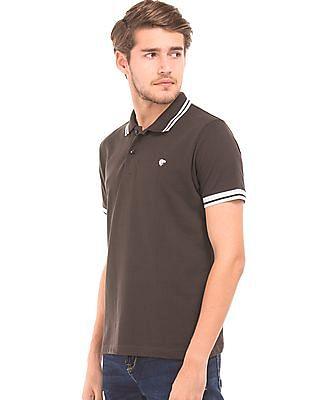 Ruggers Tipped Pique Polo Shirt