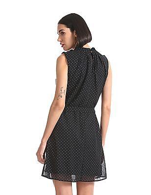 Elle Studio Sleeveless Embellished Dress