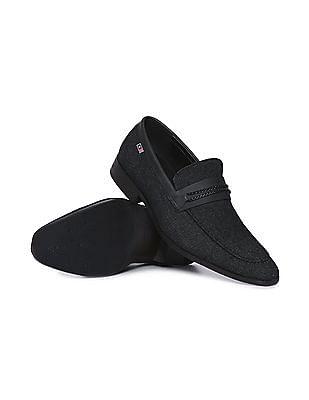 Arrow Sports Leather Trim Slip On Shoes