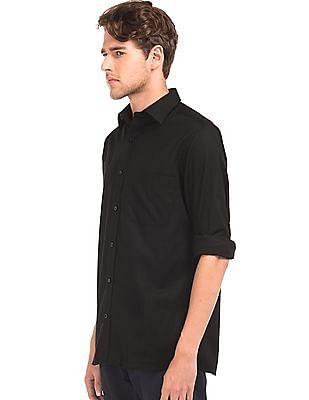 Arrow Regular Fit Linen Cotton Shirt