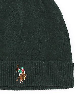 U.S. Polo Assn. Solid Lambswool Beanie
