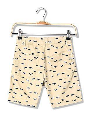 Cherokee Boys Printed Cotton Shorts