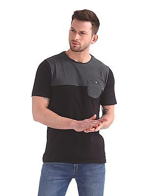 Cherokee Slim Fit Colour Blocked T-Shirt
