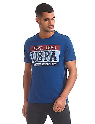 U.S. Polo Assn. Denim Co. Regular Fit Printed T-Shirt