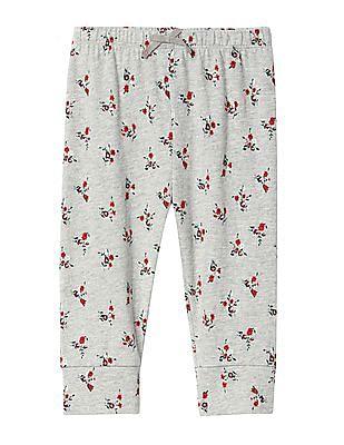 GAP Baby Organic Print Knit Pants