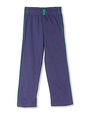 Day 2 Day Boys Drawstring Waist Solid Track Pants