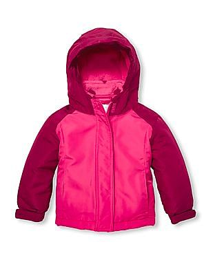 The Children's Place Baby Girl Colour Block Three-In-One Jacket