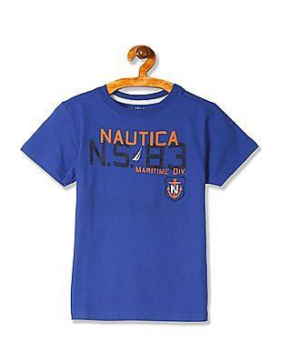 Nautica Kids Boys NS 83 Maritime Tee