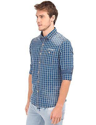 Ed Hardy Check Cotton Shirt