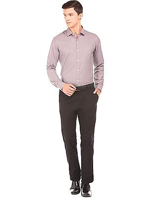 Excalibur Slim Fit Jacquard Shirt