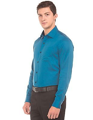Arrow Two Toned Slim Fit Shirt