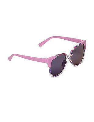 Unlimited Girls Printed Square Frame Sunglasses