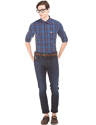 U.S. Polo Assn. Denim Co. Check Slim Fit Shirt