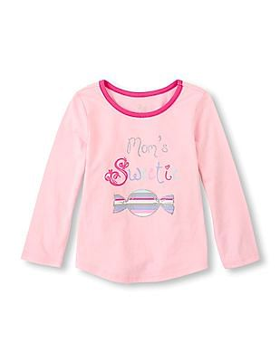 The Children's Place Baby Long Sleeve Graphic Top