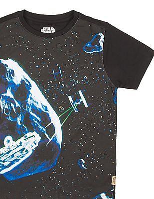 FM Boys Boys Printed T-Shirt