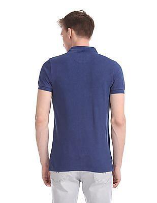 U.S. Polo Assn. Denim Co. Regular Fit Pique Polo Shirt