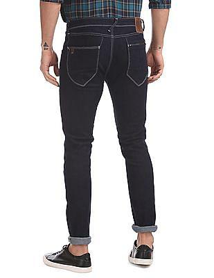 Ed Hardy Dark Wash Clean Look Jeans