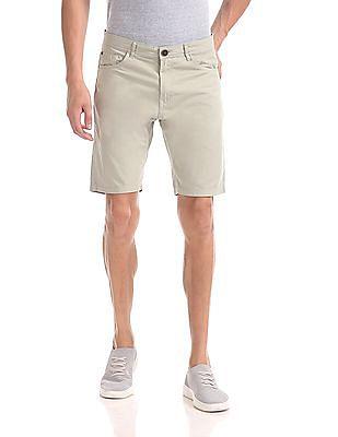 Cherokee Slim Fit Twill Cotton Shorts