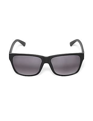 Flying Machine Black Square Frame Gradient Sunglasses