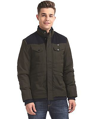 Arrow Sports Regular Fit Padded Jacket