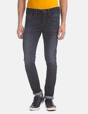 GAP Blue Skinny Fit Mid Rise Jeans