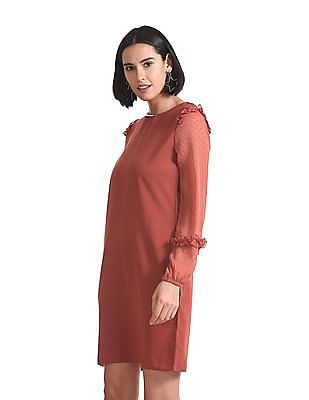 Elle Studio Peasant Sleeve Shift Dress