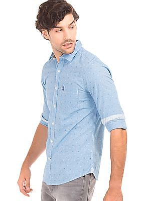 U.S. Polo Assn. Check Tailored Fit Shirt