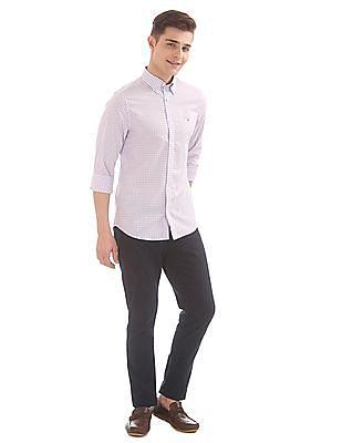 Gant The Broadcloth Gingham Slim Button Down Shirt