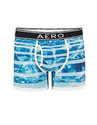 Aeropostale Printed Knit Boxer Briefs