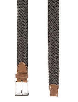 U.S. Polo Assn. Braided Canvas Belt