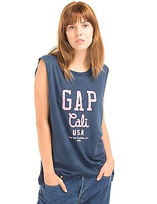 GAP Cali USA Logo Tank