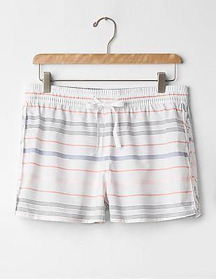 GAP Chambray Stripe Shorts