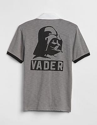 GAP Boys Grey Star Wars™ Polo Shirt