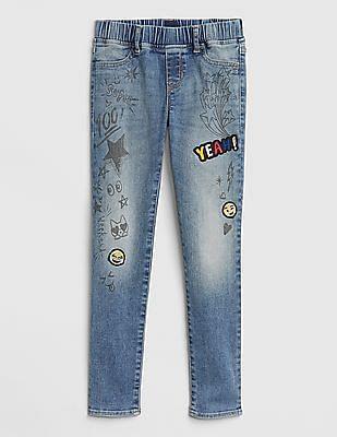 5871ea7124438 Leggings, Skirts, Jeans, Jeggings for Girls Online  NNNOW.com