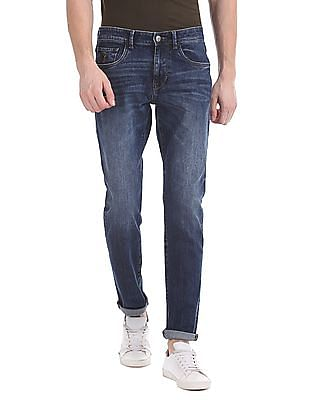 U.S. Polo Assn. Denim Co. Brandon Slim Tapered Whiskered Jeans