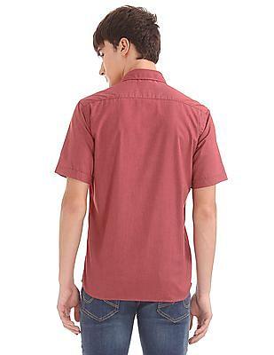 Arrow Sports Regular Fit Cotton Modal Shirt